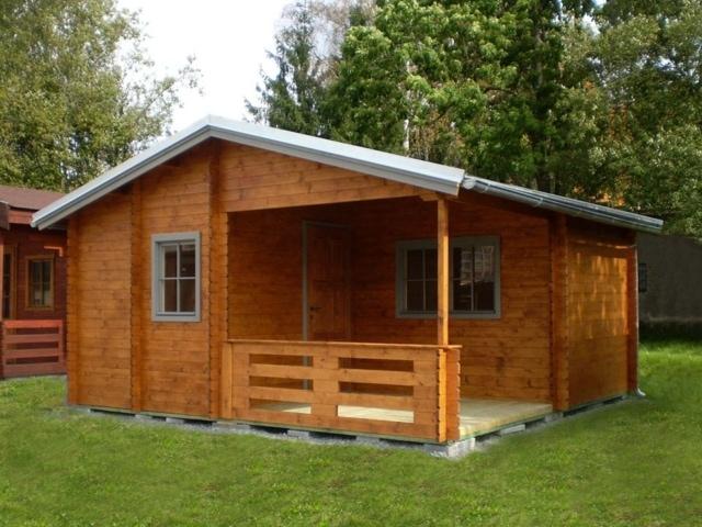 Dřevěná chata Ellisa