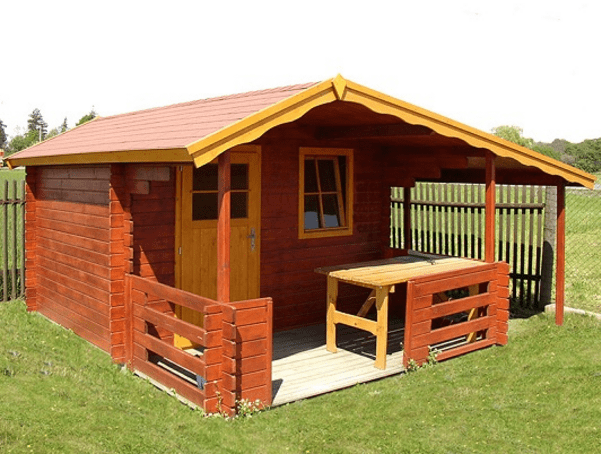 Zahradní domek ze dřeva