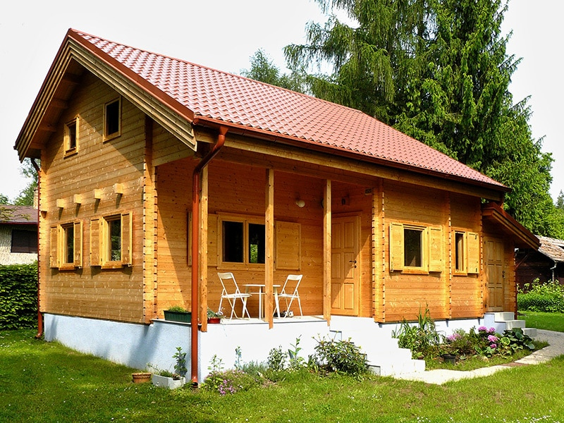 Dřevěná chata Alexandra I