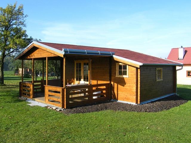 Dřevěná chata Camping