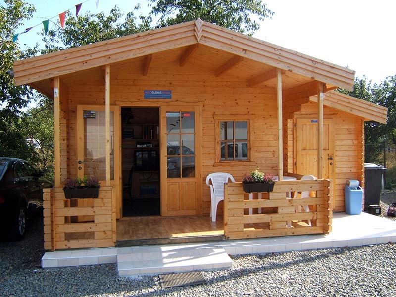 Dřevěná chata Camping 2