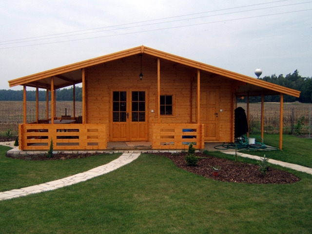 Dřevěná chata Mariana