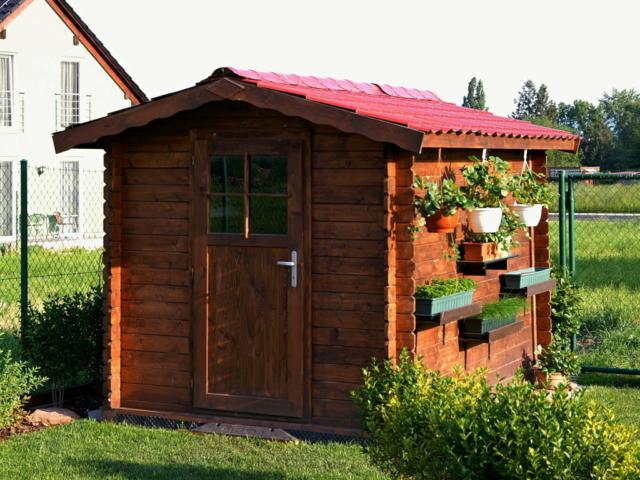 Zahradní domek na nářadí 2