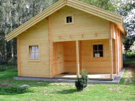 Dřevěná chata Rena