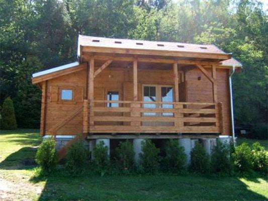 Dřevěná chata Valerie
